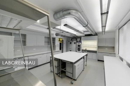 Sanierung eines Labors